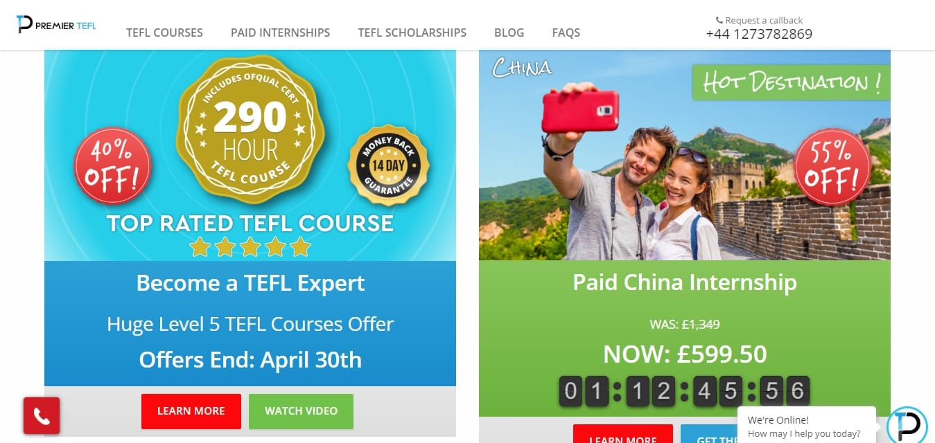 Premier TEFL Discount Coupon
