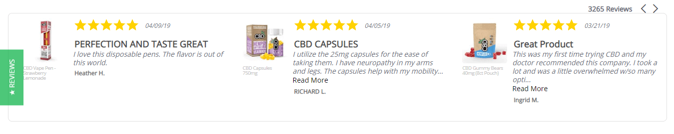 review for CBDfx