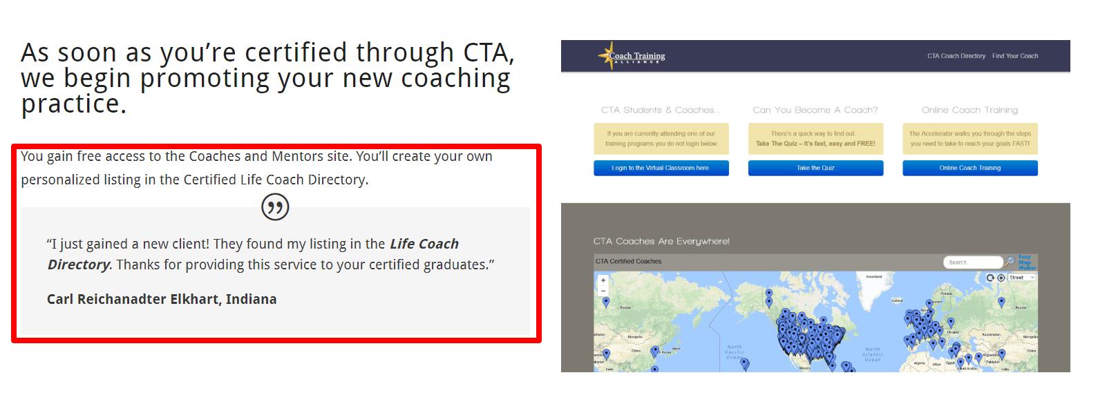 Coach Training Alliance Review- Certified Coach Program Reviews