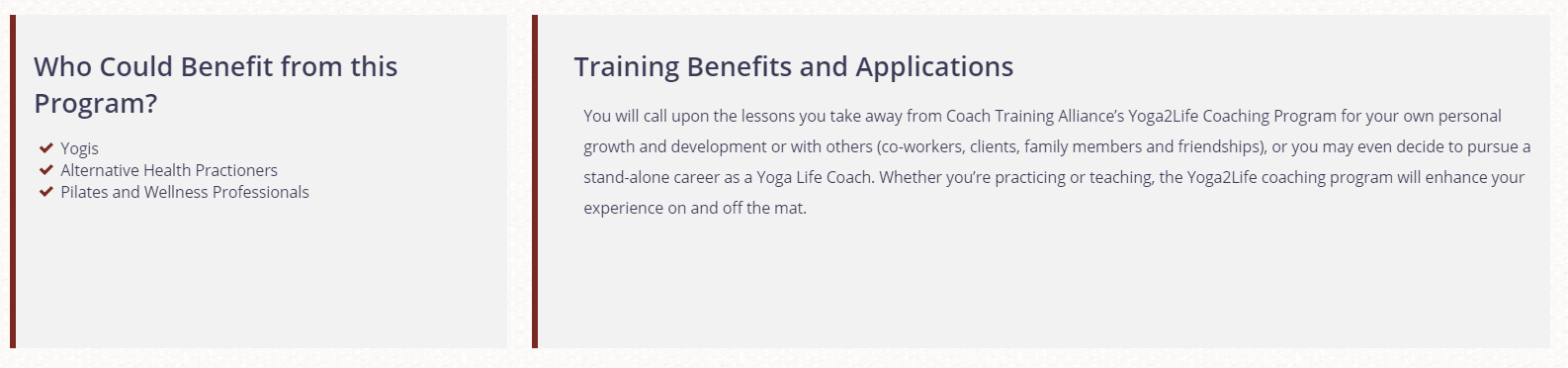 Coach Training Alliance Review- Yoga Life Coaching Benefits