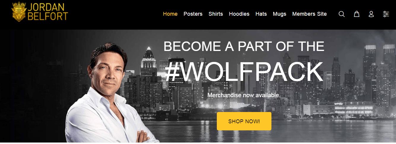 Jordan Belfort Courses Review- Wolf Pack