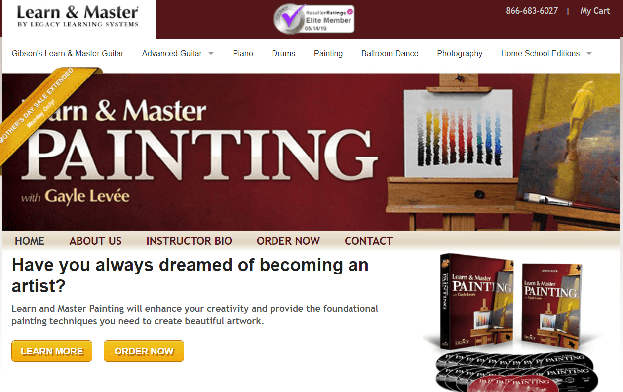Learn & Master Courses Coupon Codes- Master Painting