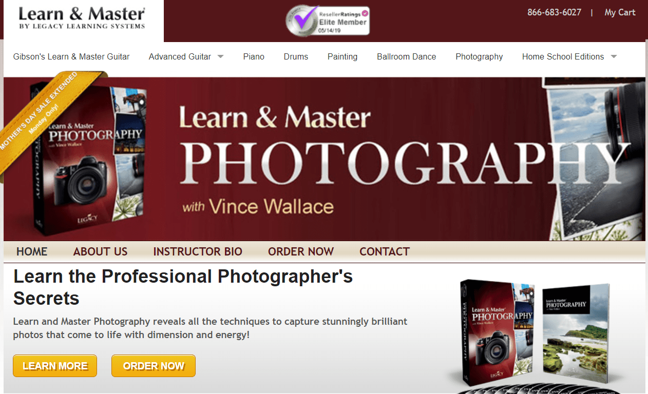 Learn & Master Courses Coupon Codes- Master Photography