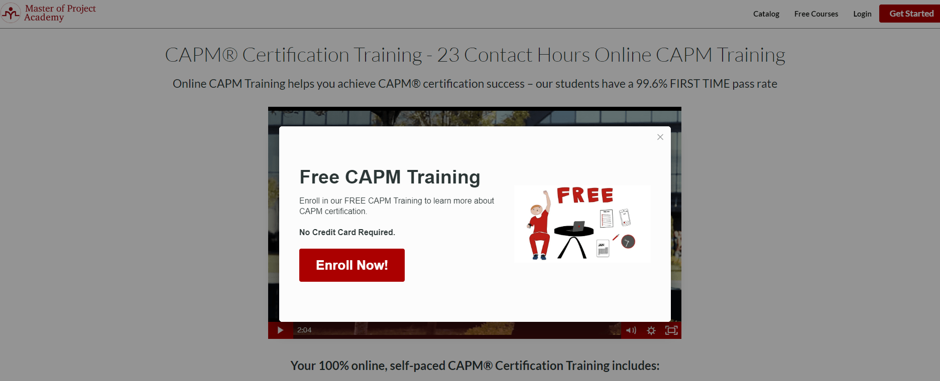 Master of Project Academy Coupon Codes- CAPM Certification Training
