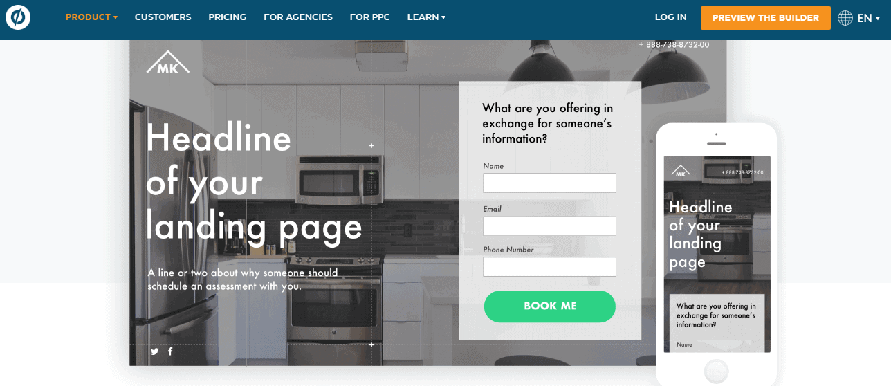 Unbounce Coupon Codes- Landing Page