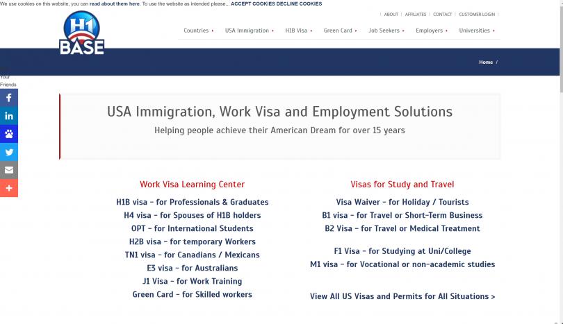H1 Base Coupon Codes with Review 2019: Get US Work Visa at $2000