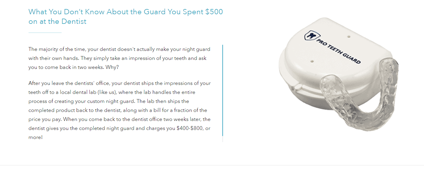 Pro Teeth Guard Coupon Codes- Best Adds