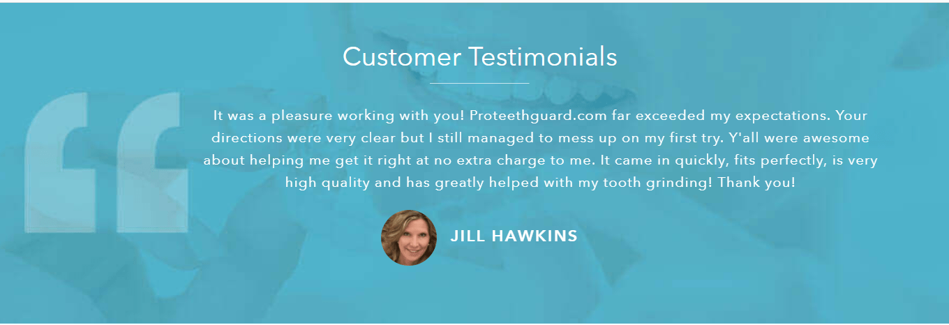 Pro Teeth Guard Review- Testimonials