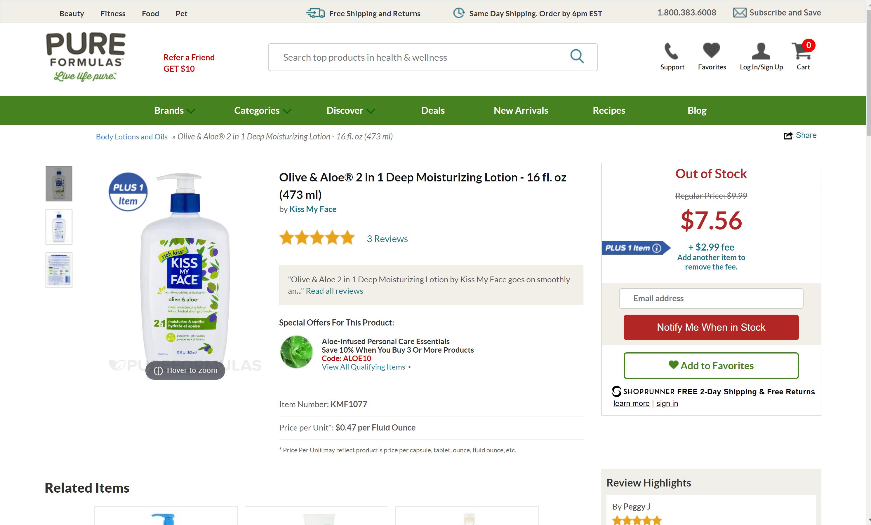 PureFormulas discount