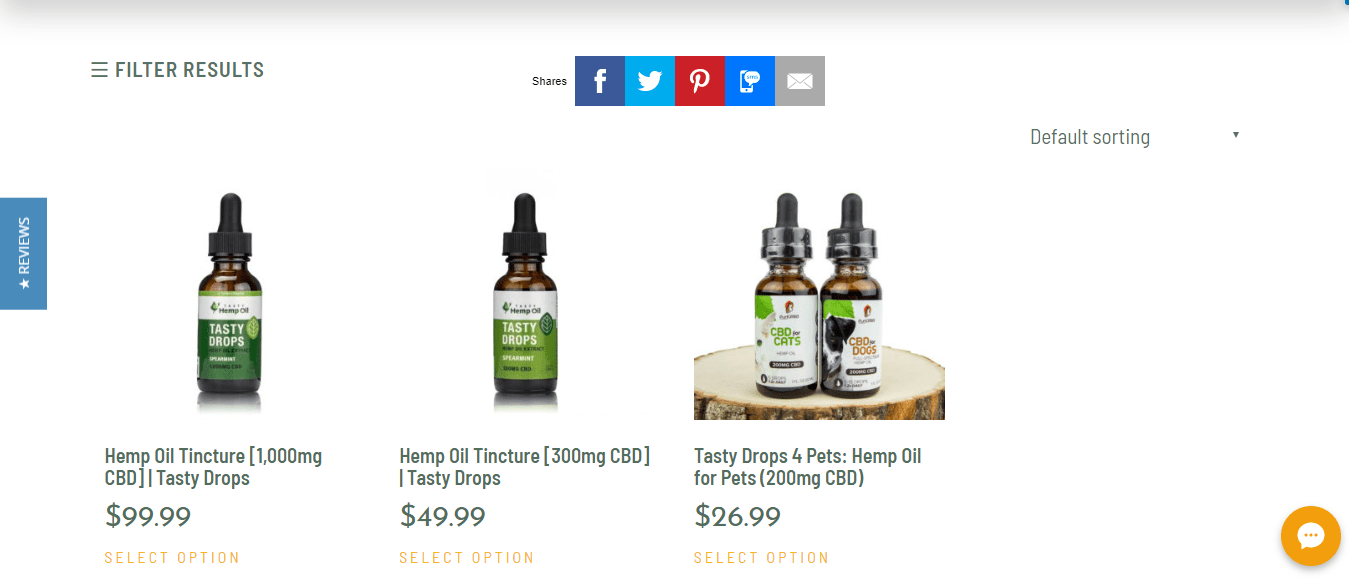 Tasty Hemp Oil Review with coupons