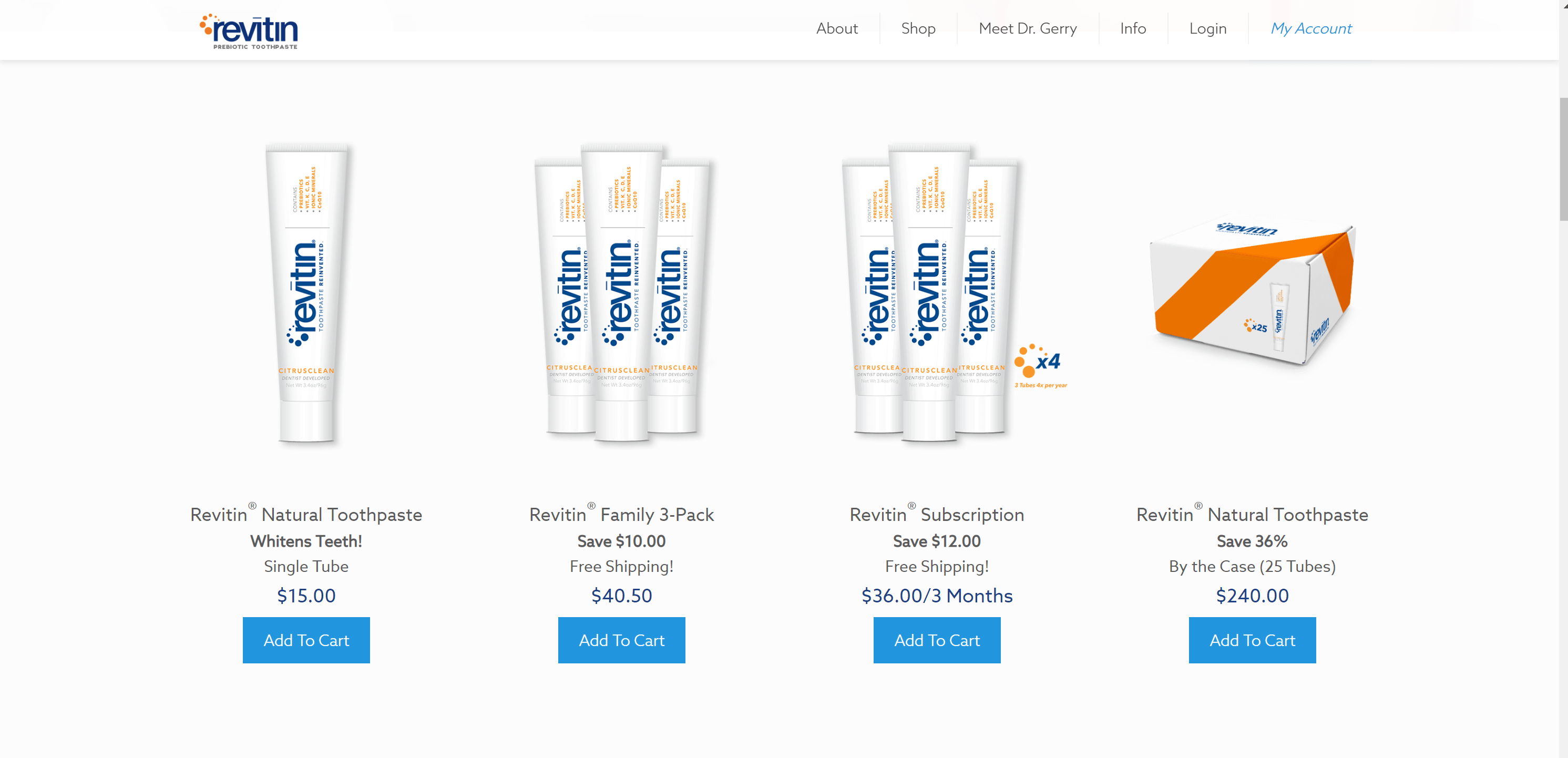 Revitin Product - shop now