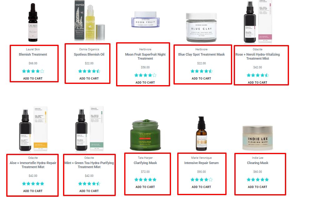 The Detox Market Coupon Codes - Acne Treatments