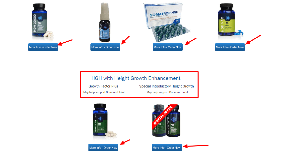 somatropinne Hgh  Products