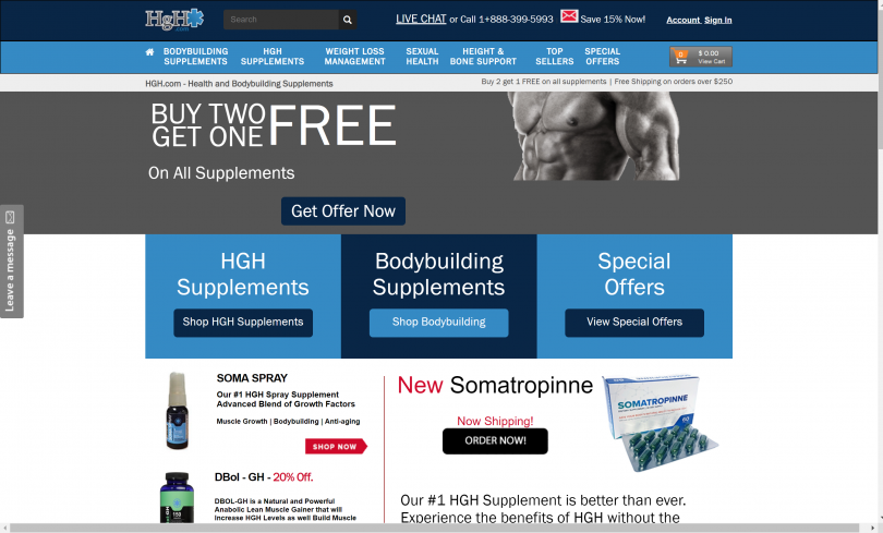 Somatropinne HGH Review 2019: Is It Worth Money? {Free Shipping}