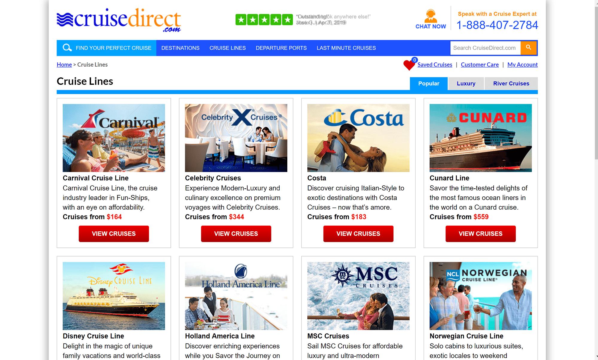 Cruise direct discount coupons