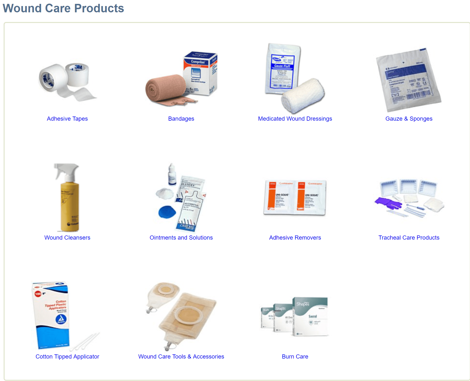 Medical supply depot offers