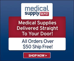 Medical supply depot shipping