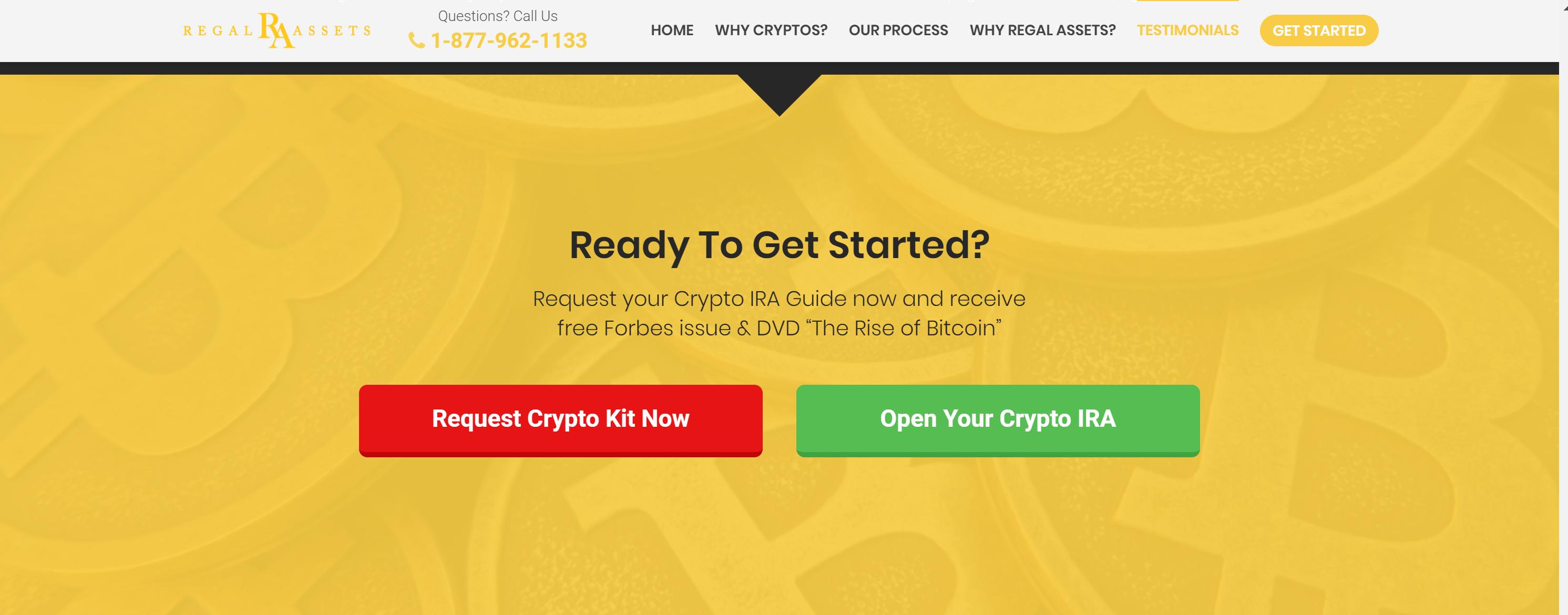 Regal assets bitcoin