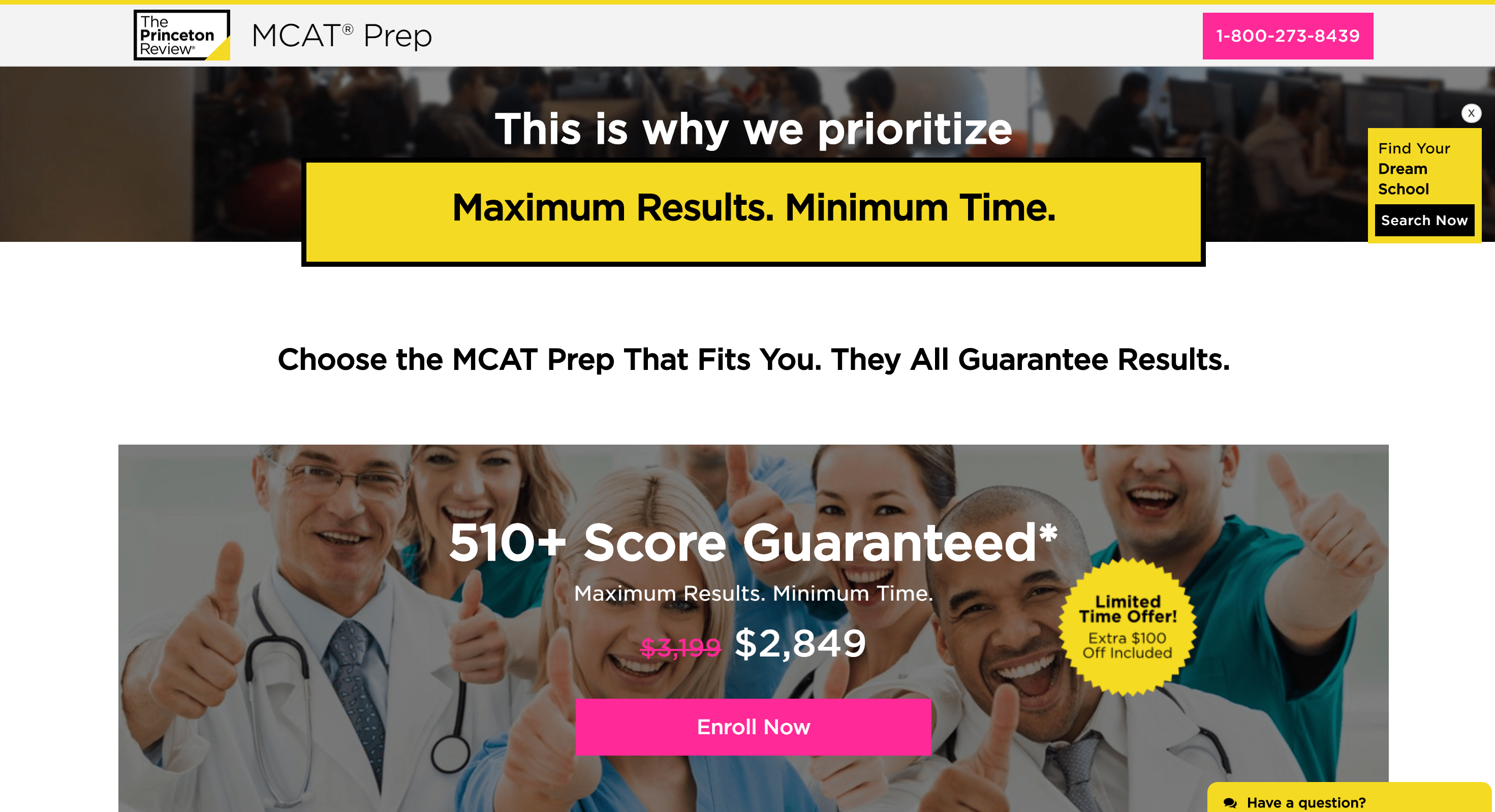 The princeton for MCAT
