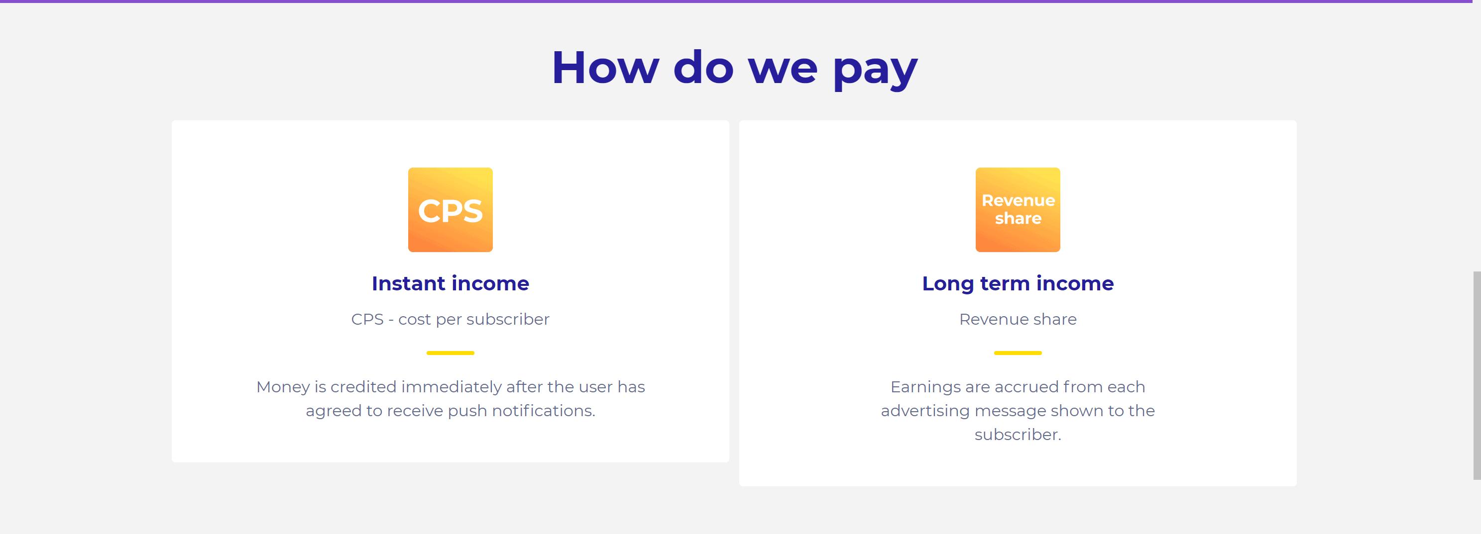 ProPush.me pricing
