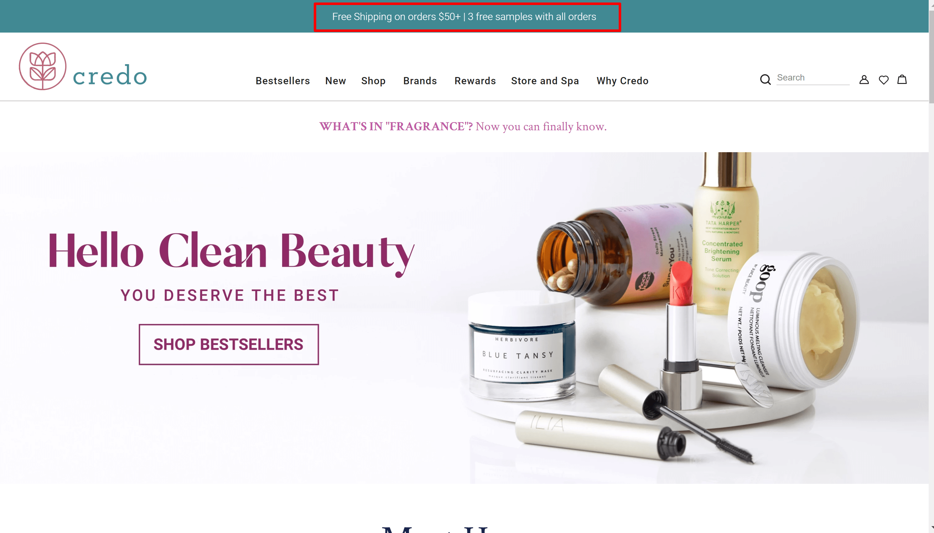 Credo Beauty coupon codes