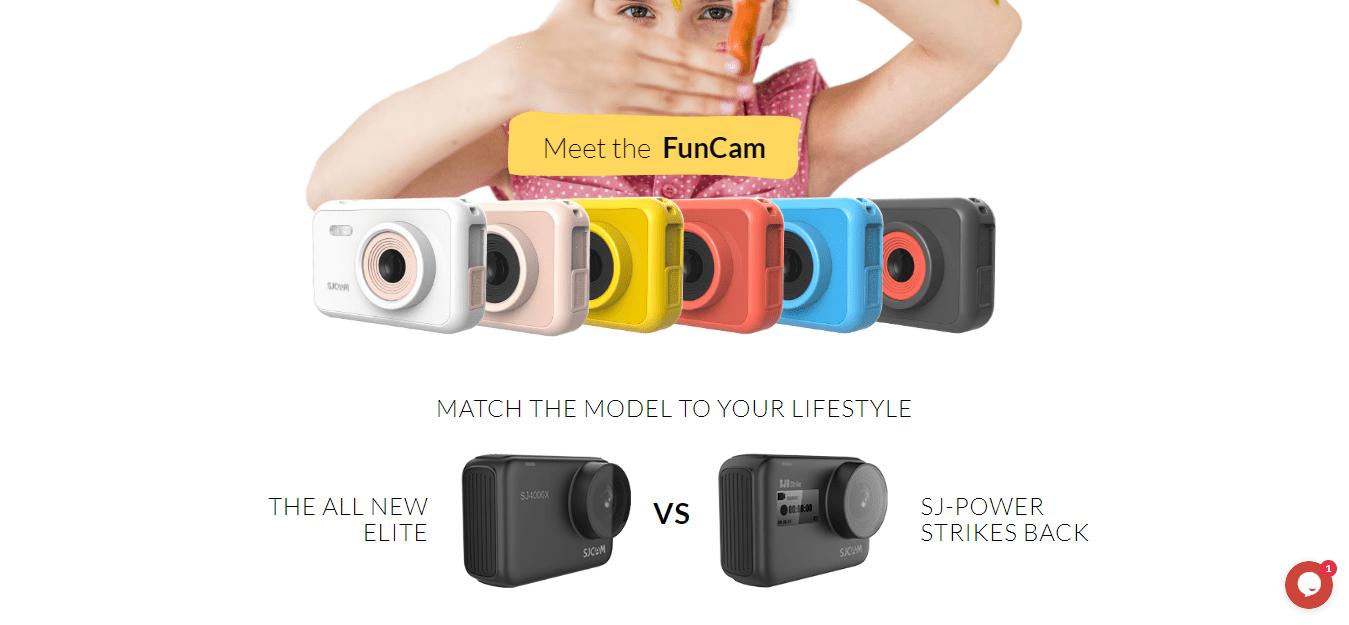 SJCAM Discount Code -Action Camera Price Online