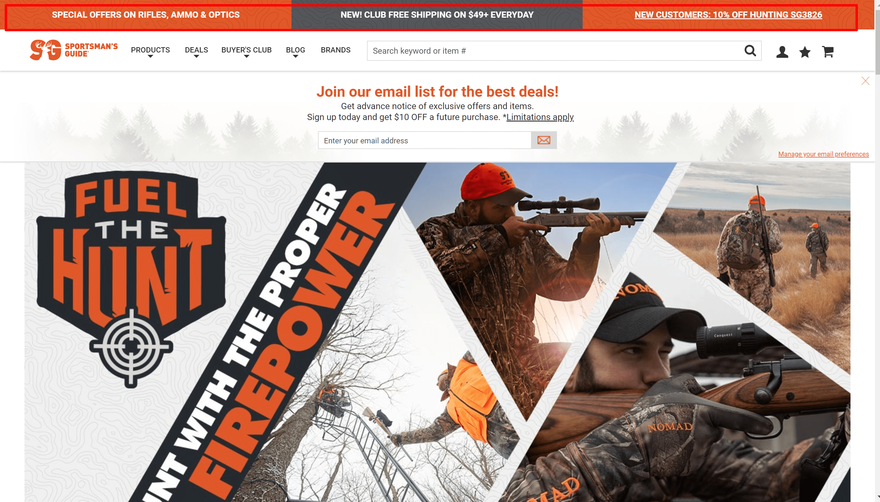 Sportsman's guide review with coupon