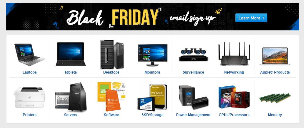 TigerDirect Review - Shop Computers black friday