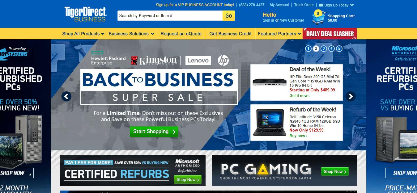 TigerDirect Review - Shop Computers
