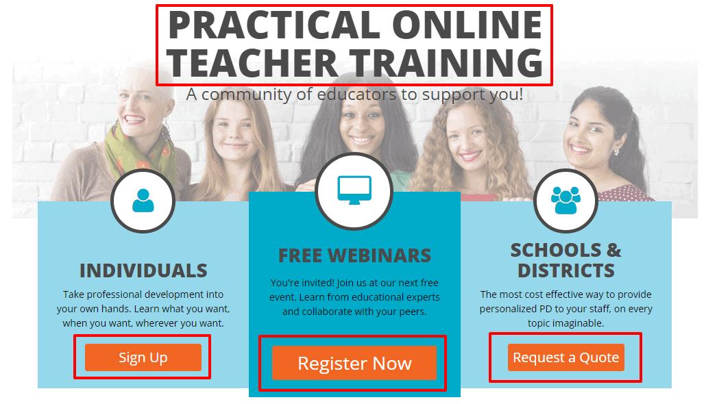 Practical Online Teacher Training - Simplek12_