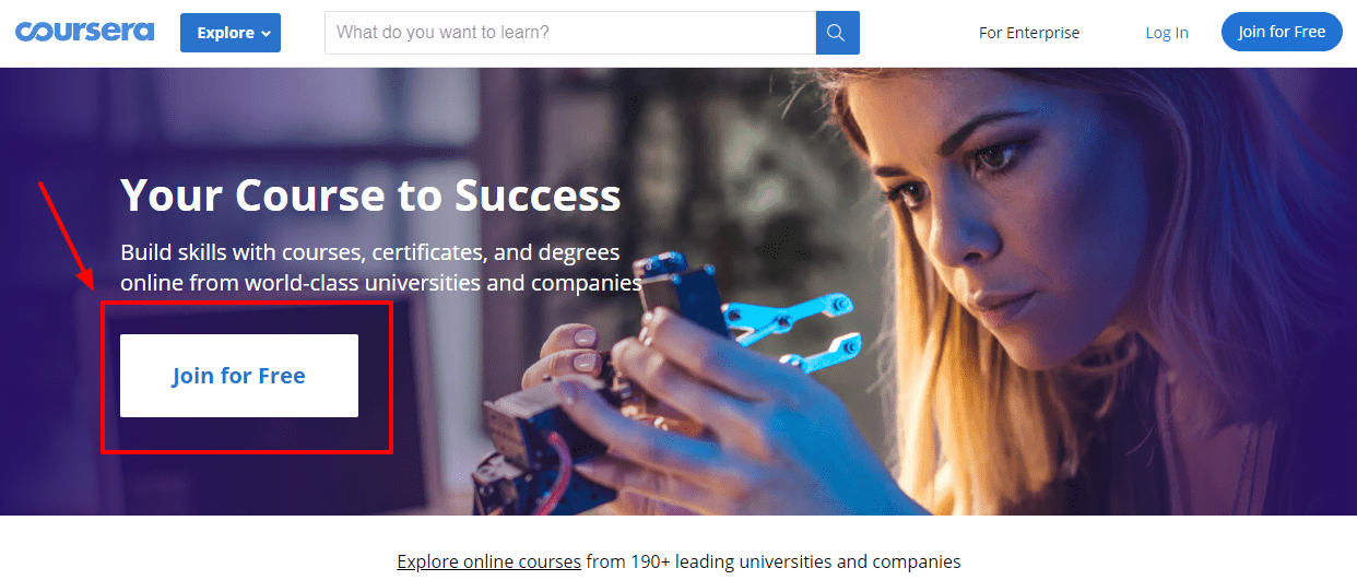 Coursera - Build Skills with Online Courses from Top Institutions