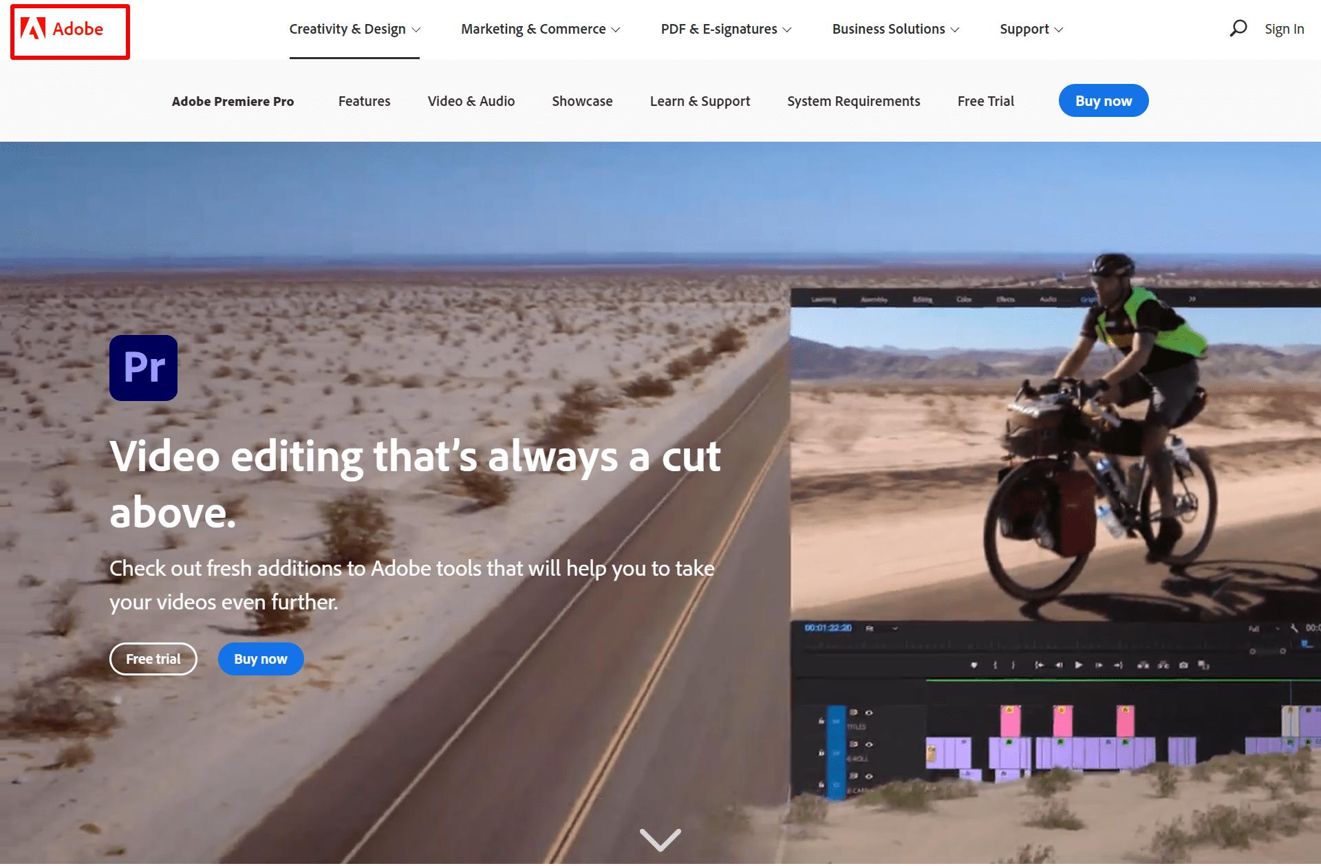 Adobe-Premiere-Pro-Professional-video-editor