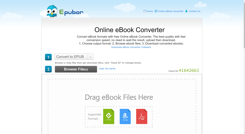 Epubor Online eBook Converter- Epubor KCR coupon codes