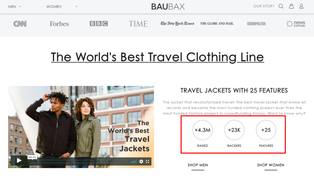 BauBax - The worldbest travel clothing line