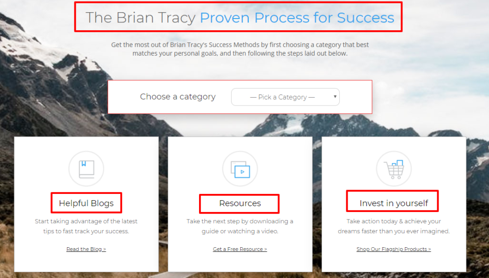 Life Coach - Leading Self Development - Courses - Brian Tracy
