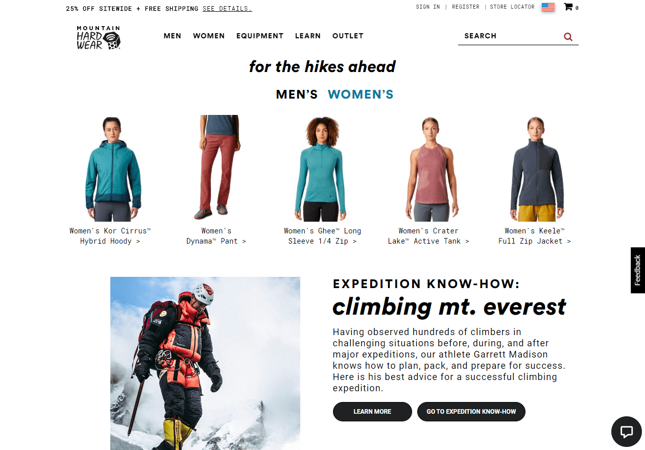 Mountain Hardwear Coupon - For the hikes ahead
