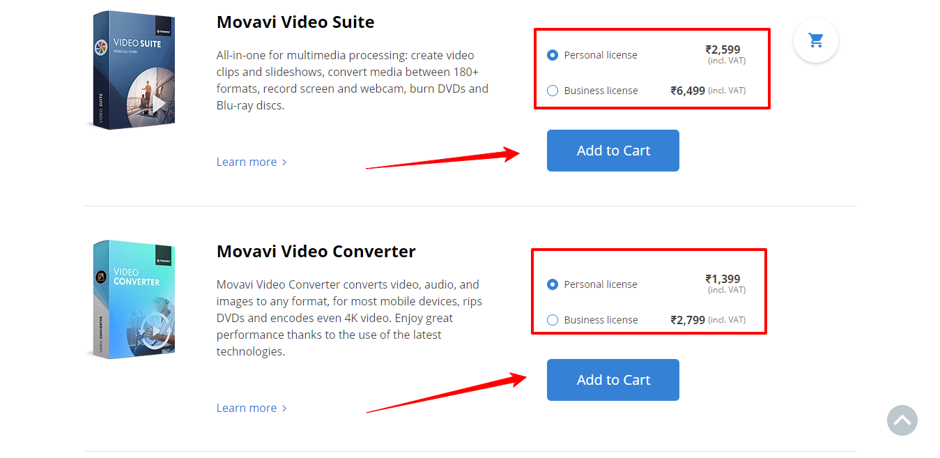 movavi coupon codes - Pricing Policy