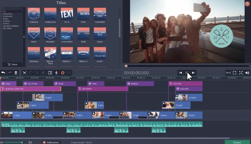 Movavi video editor review vs camtasia