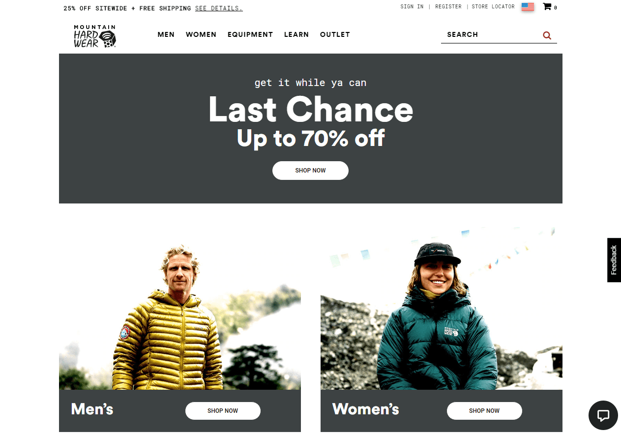 Outdoor Clothing Outlet Special Priced Jackets - Mountain Hardwear discounts