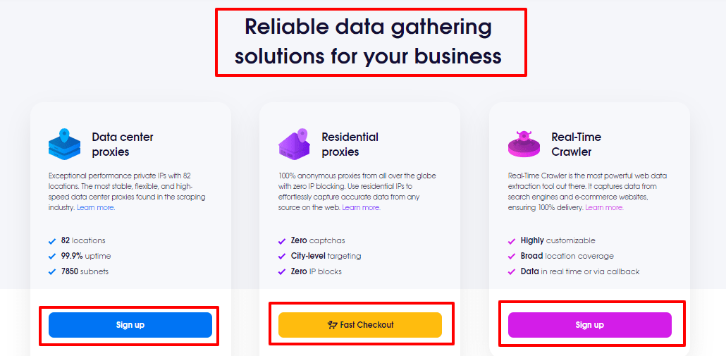 Partner Up - With Proxy - Experts - Oxylabs