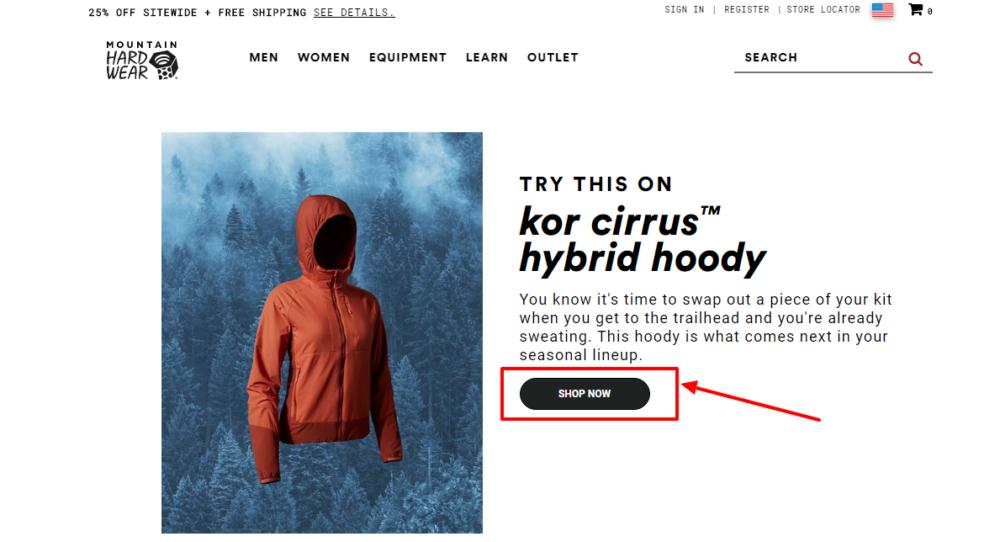 Try this on Kor cirrus hybrid hoody- Mountain Hardwear Promo Code