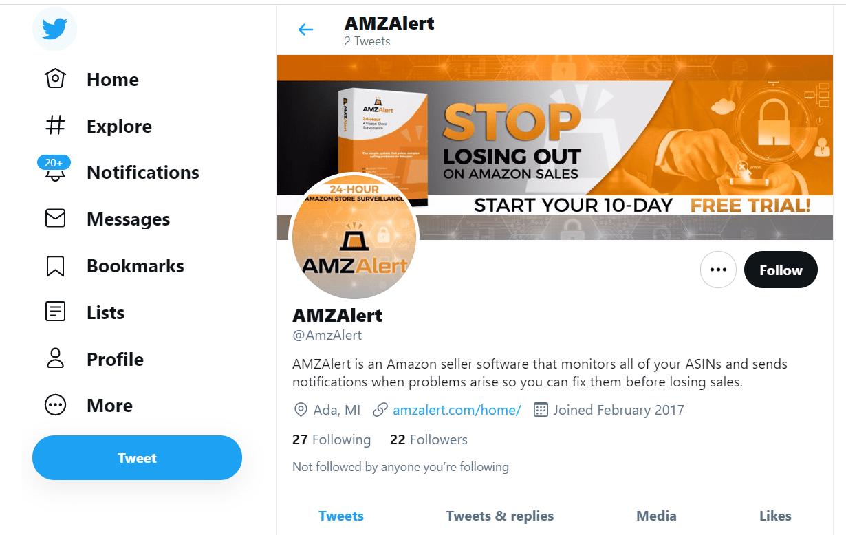 amz on twitter