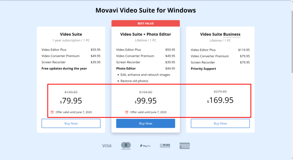 movavi editor suite windows pricing review