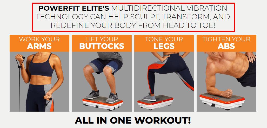PowerFit - Elite - FREE - Waist - Training - Belt - As - Seen - on - TV