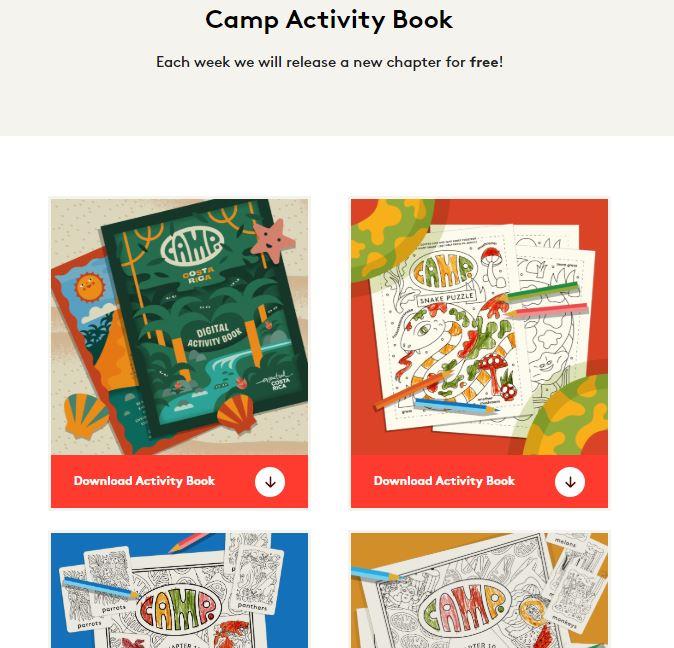 Camp Coupon Codes Activities