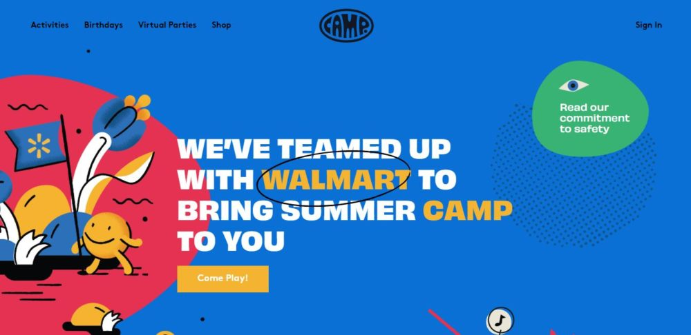 Camp Coupon Codes Homepage
