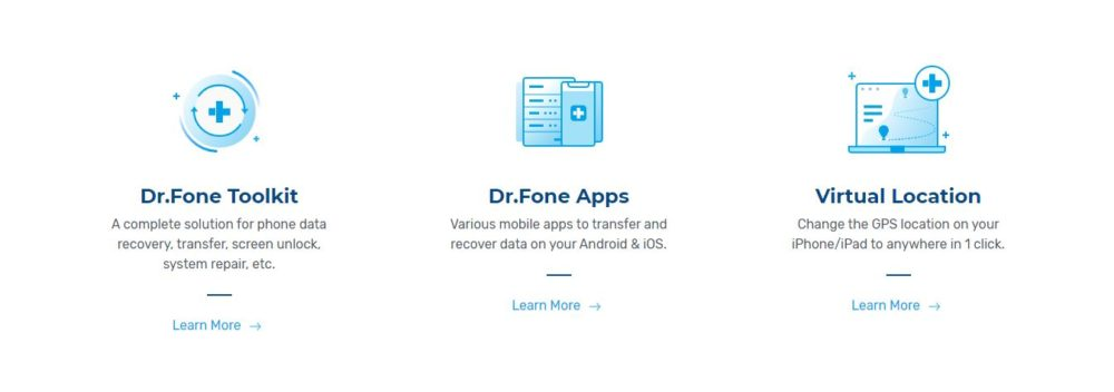 Dr. Fone Review Features