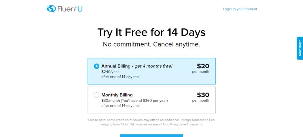 FluentU Pricing Plans