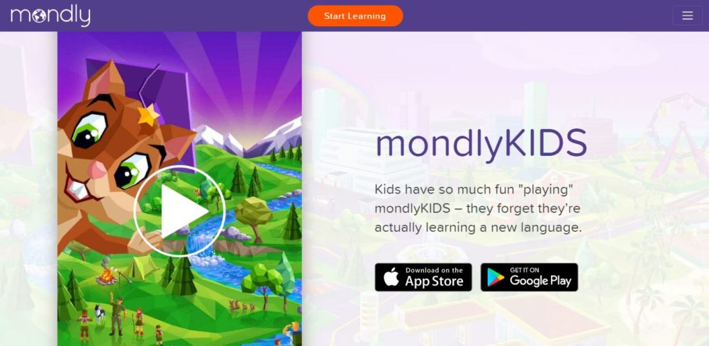 Mondly Review MondlyKids