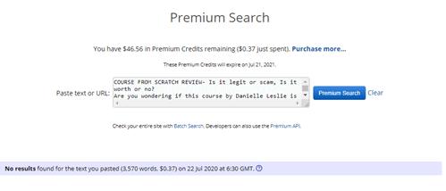 Premium Search